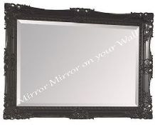X LARGE Next Charlotte Decorative Grey Mirror - Stunning - FREE P&P